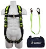 FSP USA FS139 Fall Protection Kit with No Tangle Grommet Leg Harness, 6' Lanyard with Rebar Hook in a Bag