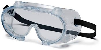 Pyramex G204 Goggles, Clear Chemical Goggle, Qty: Box/12 prs