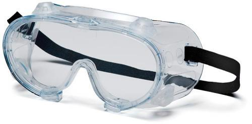 Pyramex G204T Goggles, Clear Anti-Fog Chemical Goggle, Qty: Box/12 prs