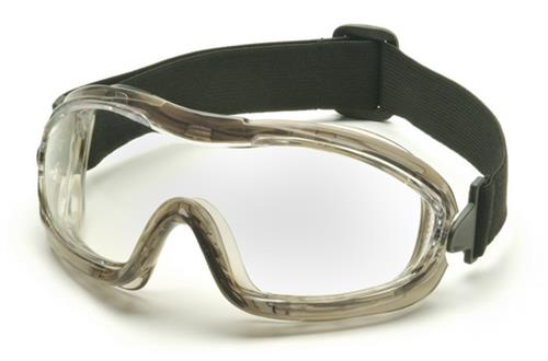 Pyramex G704T Goggles, Low Profile Chemical Splash Goggle with Clear Anti-Fog Lens , Qty: Box/12 prs