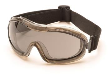Pyramex G724T Goggles, Low Profile Chemical Splash Goggle with Gray Anti-Fog Lens , Qty: Box/12 prs