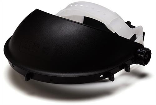 Pyramex Safety Products HGB Black-Headgear with Ratchet & Pivoting Action, Qty: Box/10