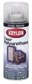 Krylon Clear Polyurethane Coatings, Case/ 6 Cans