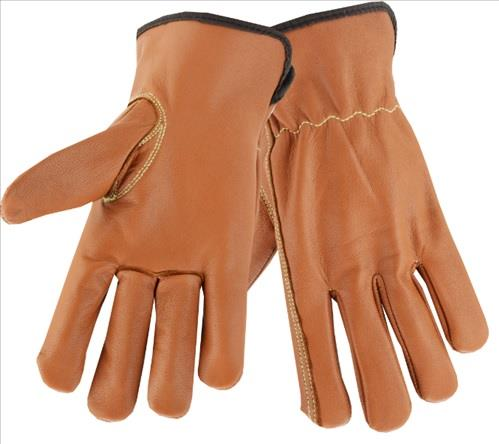 West Chester KS993KOA Premium Grain Goatskin Drivers Gloves, Oil Armor Finish, Cut Level 4 Lining, Arc Flash 4 Rated, Pair