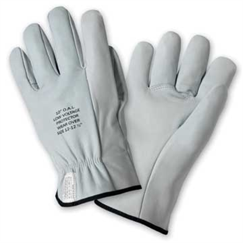 "West Chester LM991 Linemans Glove Protector, 10"" Grain Goatskin, Straight Thumb Drivers Style, Box/Dozen Pairs"