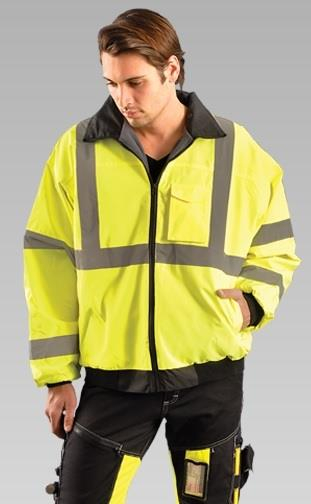 OccuNomix LUX-ETJBJ Value Hi Vis Bomber Jacket
