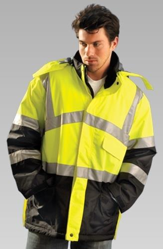 OccuNomix LUX-TJCW Premium Insulated Cold Weather Hi Vis Parka