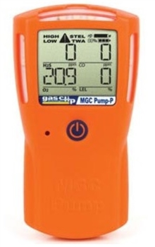 Gas Clip Technologies MGC-P-PUMP Multi Gas Clip Pump Pellistor 4 Gas Detector, internal Pump for H2S, CO, O2 & LEL