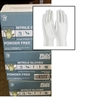"Disposable Nitrile Gloves, Powder Free, 3 Mil, 9"", White, Case (10 Boxes)"