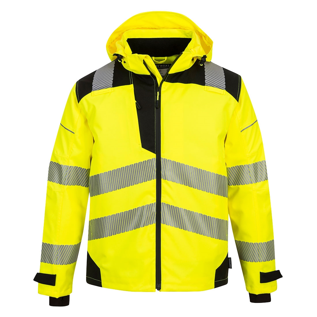 Portwest Workwear Mens Hi-Vis Jacket FR Finish