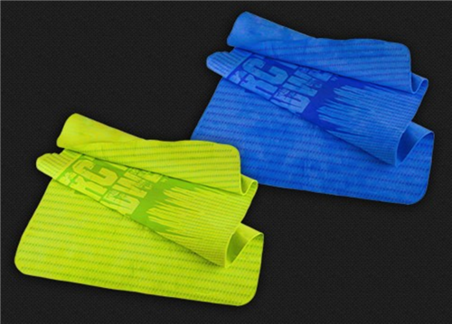 Radians Arctic Radwear Cooling Towel with Advanced Technology Evaporative Cooling, RCS10 Blue or RCS11 Hi Vis Lime, Box/12
