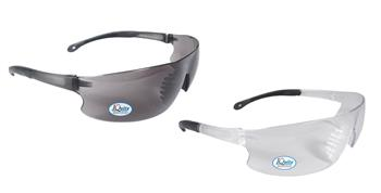 Radians Rad-Sequel IQ - IQuity Series Safety Eyewear, Anti-Fog Technology, Chemical & Abrasion Resistant, RS1-13 Clear or RS1-23 Smoke, Box/12