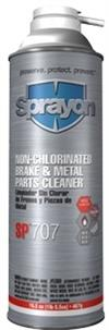 "Sprayon S00707000 Non-Chlorinated Brake & Metal Parts Cleaner with ACCU-FORCEâ""¢ Spray SP 707"