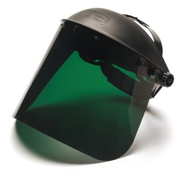 "Pyramex Safety Products S1035 Dark Green-PETG Shield 8"" X 15""  /.040 Thick, Qty: Box/10"