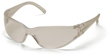 Pyramex S1410S Safety Glasses, Fastrac Eyewear Clear Lens with Clear Frame, Qty: Box/12 prs