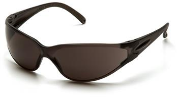 Pyramex S1420S Safety Glasses, Fastrac Eyewear Gray Lens with Gray Frame, Qty: Box/12 prs