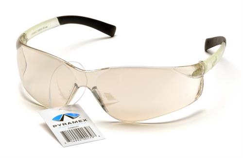 Pyramex S2580SRT Safety Glasses, Ztek Eyewear IO Mirror Frame with IO Mirror Lens and Retail Tag, Qty: Box/12 prs