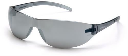 Pyramex S3270S Safety Glasses, Alair Eyewear Silver Mirror Lens with Silver Mirror Frame , Qty: Box/12 prs