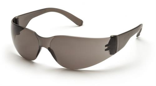 Pyramex S4120SN Safety Glasses, Mini Intruder Eyewear Gray Lens with Gray Frame, Qty: Box/12 prs