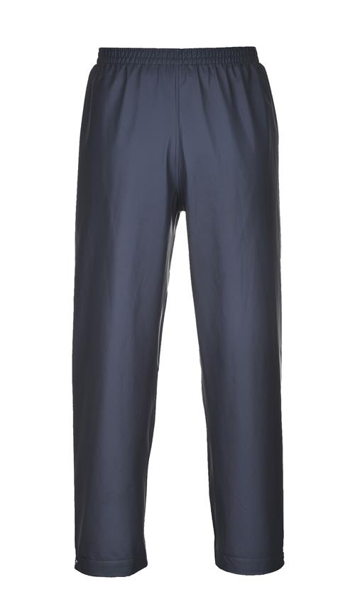 Portwest S451NAR Sealtex Classic Waterproof Rain Pants, Navy