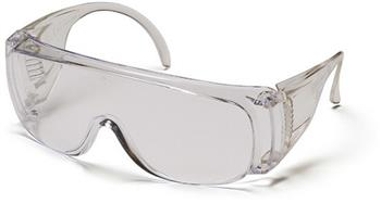 Pyramex S510S Safety Glasses, Solo Eyewear Clear Lens/Frame Combination, Qty: Box/12 prs