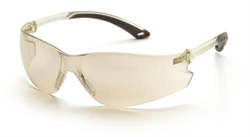Pyramex S5880S Safety Glasses, Itek Eyewear IO Mirror Lens with IO Mirror Temples, Qty: Box/12 prs