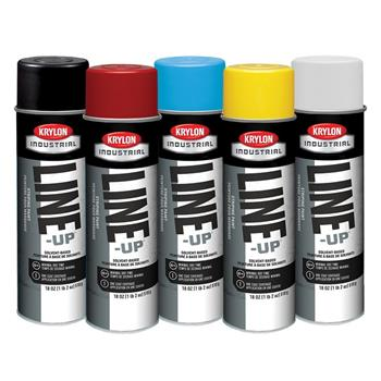 Krylon Quik-Mark Solvent Based Inverted Marking Paint - 17oz. Cans, 19 Color Choices, Case/12