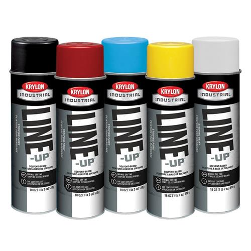 Krylon Quik-Mark Solvent Based Inverted Marking Paint - 17oz. Cans, Case/12