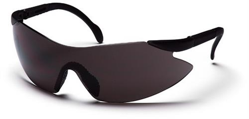 Pyramex SB2320S Safety Glasses, Legacy Eyewear Gray Lens with Black Temples, Qty: Box/12 prs