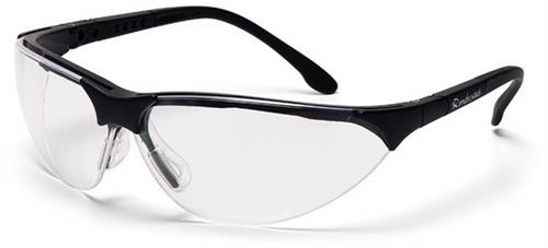 Pyramex SB2810S Safety Glasses, Rendezvous Eyewear Clear Lens with Black Frame, Qty: Box/12 prs