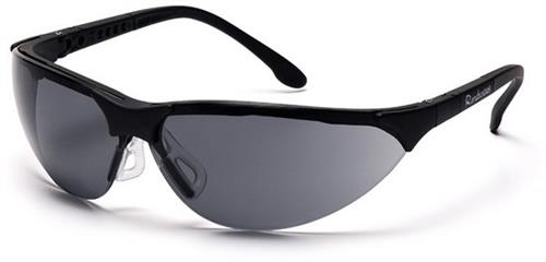 Pyramex SB2820S Safety Glasses, Rendezvous Eyewear Gray Lens with Black Frame, Qty: Box/12 prs