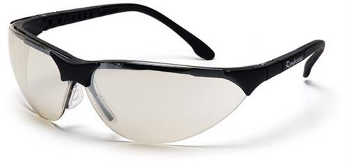Pyramex SB2880S Safety Glasses, Rendezvous Eyewear IO Mirror Lens with Black Frame, Qty: Box/12 prs