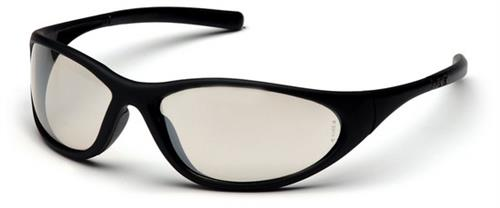 Pyramex SB3380E Safety Glasses, Zone II Eyewear IO Mirror Lens with Matte Black Frame, Qty: Box/12 prs