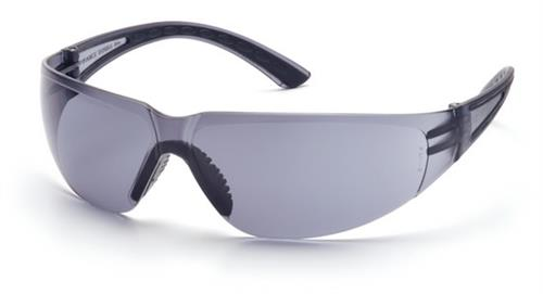 Pyramex SB3620S Safety Glasses, Cortez Eyewear Gray Lens with Black Temples, Qty: Box/12 prs