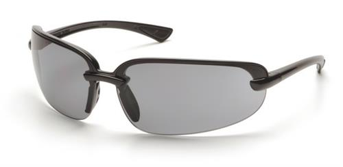 Pyramex SB6220D Safety Glasses, Protocol Eyewear Gray Lens with Black Frame, Qty: Box/12 prs