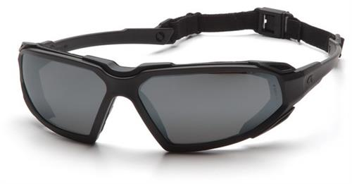 Pyramex SBB5020DT Safety Glasses, Highlander Eyewear Gray Anti-Fog Lens with Black Frame, Qty: Box/12 prs
