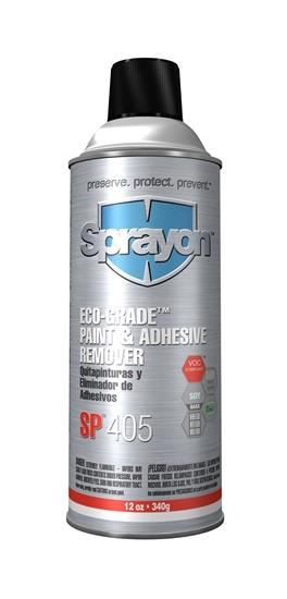 Sprayon S00405000 Eco-Grade Paint and Adhesive Remover SP 405