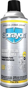 Sprayon S00767000 Indoor Metal Protectant LU767 Aerosol, 11-oz. Can, Case/12