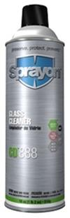 Sprayon S00888000 Glass Cleaner CD888 Aerosol 18 Oz. Cans, Case/12