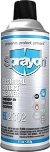Sprayon S02302000 Electronic Contact Cleaner EL2302 Aerosol, 11 oz cans, Case/12