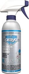 Sprayon S002302LQ Electronic Contact Cleaner EL2302L Non-Aerosol Liqui-Sol 14 oz Cans, Case/12