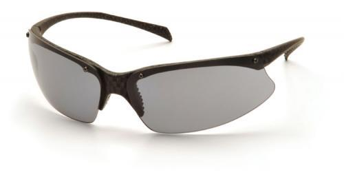 Pyramex SCF6820D Safety Glasses, PMX5050 Eyewear Gray Lens with Carbon Fiber Frame, Qty: Box/12 prs