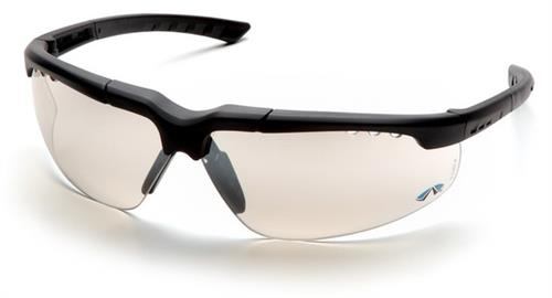 Pyramex SCH4880D Safety Glasses, Reatta Eyewear IO Mirror Lens with Charcoal Frame, Qty: Box/12 prs