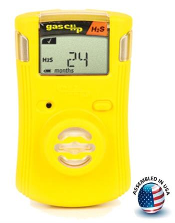 Gas Clip Technologies SGC-H Single Gas Clip Infrared Hydrogen Sulfide (H2S) Detector, 2 Year Battery Life