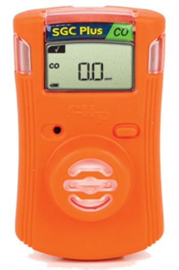 Gas Clip Technologies SGC-P-C Single Gas Clip Plus Infrared with Hibernate Mode, Detects Carbon Monoxide (CO), Calibration Optional