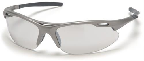 Pyramex SGM4580D Safety Glasses, Avante Eyewear IO Mirror Lens with Gun Metal Frame, Qty: Box/12 prs