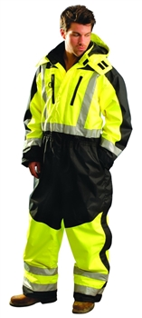 OccuNomix SP-CVL Speed Collection Premium Cold Weather Hi Vis Coverall