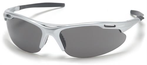 Pyramex SS4520D Safety Glasses, Avante Eyewear Gray Lens with Silver Frame , Qty: Box/12 prs