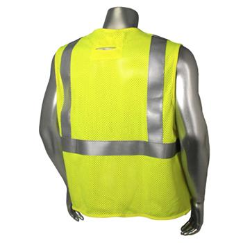 Radians FR Class 2 Fire Resistant Vest, Mesh with D-Ring Pass Thru, Utility HRC1 Arc Rated Vest SV97-2VGMFR, Made in USA