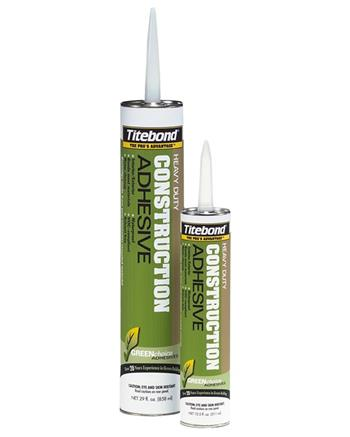 Titebond GREENchoice Heavy Duty Construction Adhesive